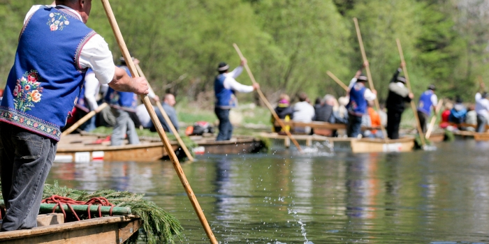 Dunajec rafting in Pieniny
